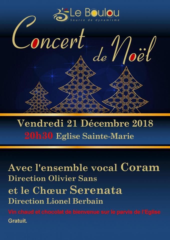 Concert noel 2018